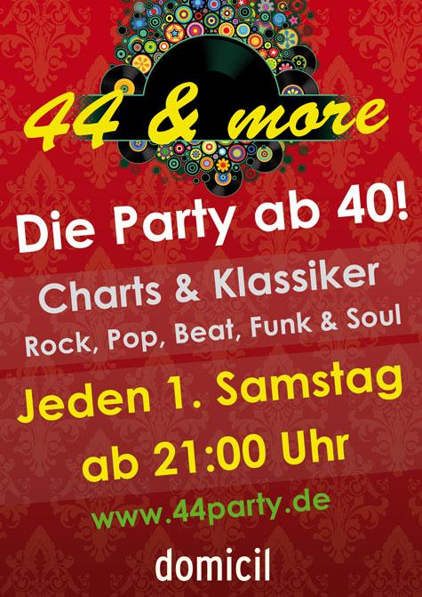 44 & more - Quelle: http://www.domicil-dortmund.de/index.php/programm-details/id/8846/44more---die-party-ab-40.html