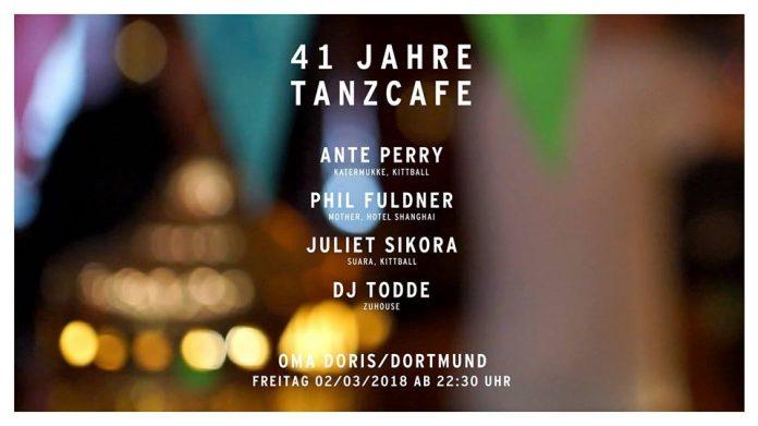 41 Jahre Tanzcafé - Quelle: https://www.facebook.com/events/164952067610490/