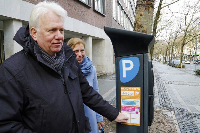 Handy-Parken in der City