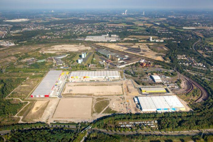 Die Eröffnungen der Logistik-Lager von Amazon und Decathlon an der Westfalenhütte im letzten Jahr sorgten unter anderem dafür, dass die Investitionssumme in der Logistik bei 140 Millionen Euro liegt. Bild: Garbe Industrial