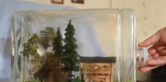 """Einen ganz besonderen Hingucker auf der """"Intermodellbau"""" 2018 bieten die einzigartigen Buddeleisenbahnen von Torsten Gutsche aus Magdeburg. Bild: INTERMODELLBAU"""