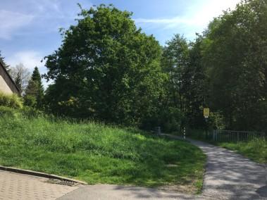 Hier soll ein Kunstwerk entstehen, dass die Mitte NRWs symbolisiert. Bild: Stadtbezirksmarketing Aplerbeck