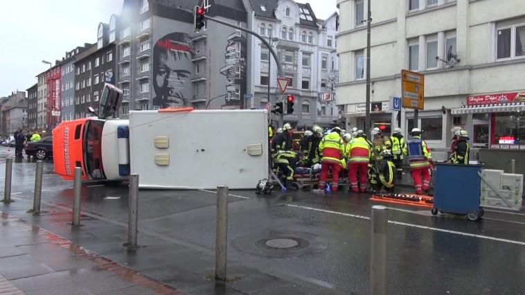 Rettung aus dem RTW Bild: Ida News