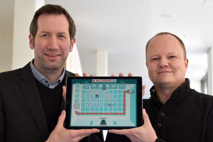 Blutspende-Spiele-App / Quelle: Klinikum Dortmund